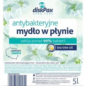 ANTYBAKTERYJNE mydło w płynie DiskPAX – 5L