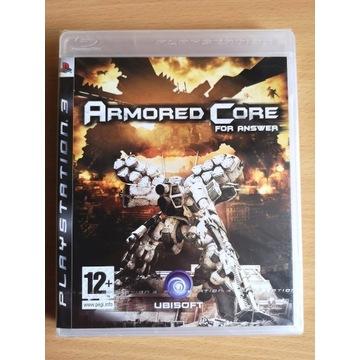 PS3 Armored Core For Answer NOWA! Polskie Wydanie