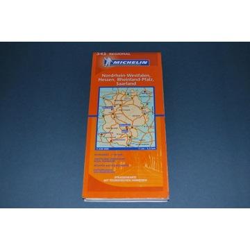 Starocia Mapa Nordrhein-Westfalen Wyd 2006r