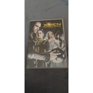 X-Men pierwsza klasa, dvd