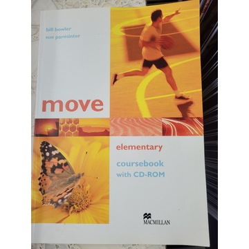 move elementary coursebook with CD