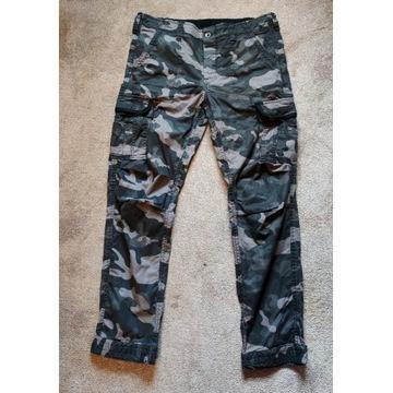 Surplus Spodnie Premium Slim Black Camo XL