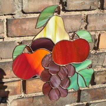 Witraż - owoce