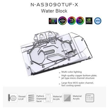 Bykski blok wody dla ASUS TUF RTX 3090 /3080 kart