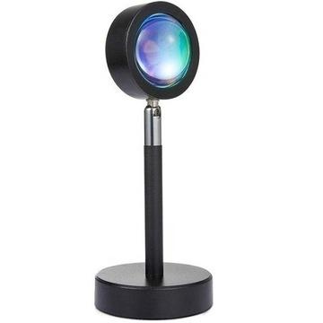 Lampa Projektor IMITACJA TĘCZY TŁO zdjęć Prezent