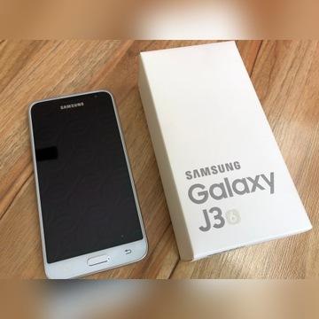 Samsung Galaxy J3 (6) 2016 - stan idealny komplet