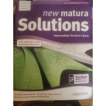 New Matura Solutions B1-B2