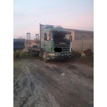 Scania 380 specialna laweta