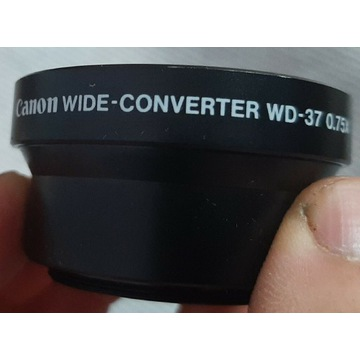 CANON WIDE-CONVERTER WD-37 0.75x