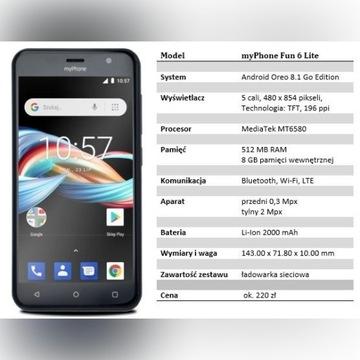 myPhone Fun6 Lite