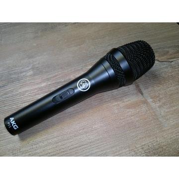 AKG P3S mikrofon dynamiczny + statyw biurkowy