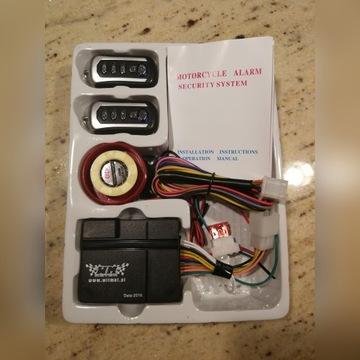 Alarm motocyklowy WILMAT- 2 piloty komplet