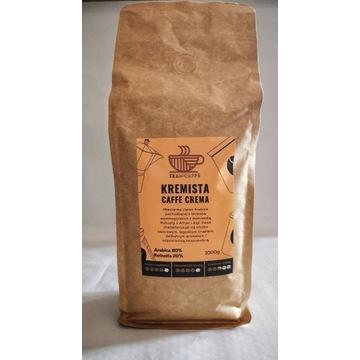 Kawa Ziarnista Kremista Caffe Crema 1000g