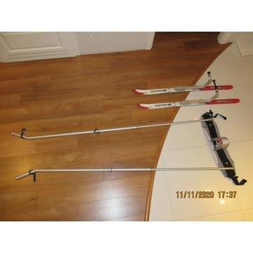 Narty do wózka Chariot zestaw narciarski