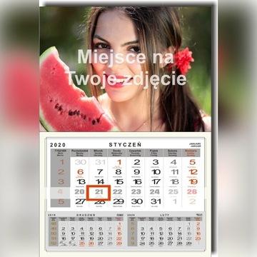 Kalendarz Jednodzielny z Twoim Zdjęciem