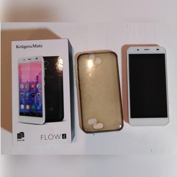Kruger&Matz FLOW4 KM0440-W Biały Dual Sim