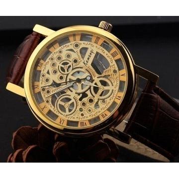 Zegarek unisex z pięknym cyferblatem SZYBKAWYSYŁKA