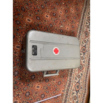 metalowa walizka na butle tlenową palnik inhalator