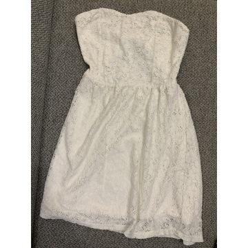 Biała sukienka Even&Odd, M