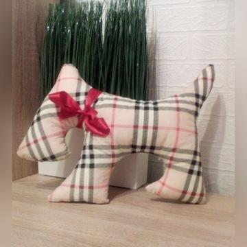 piesek poduszka handmade wzory