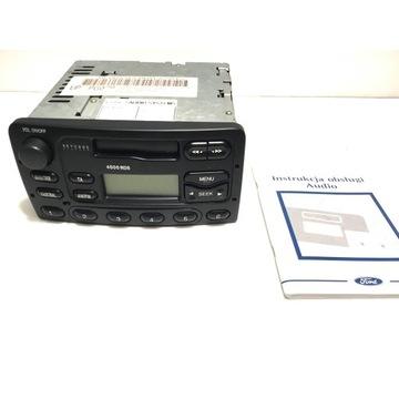 Radio Ford Focus 4000, rok 2000, instrukcja + kod