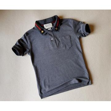 Koszulka chłopięca polo Gucci 140 10lat