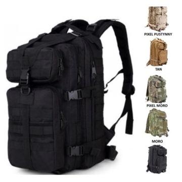 Plecak Taktyczny Militarny Wojskowy Wędkarski Kemp