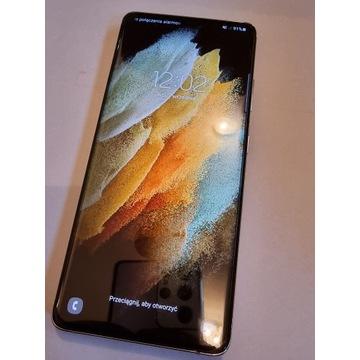 Samsung Galaxy S21 Ultra srebrny jak nowy