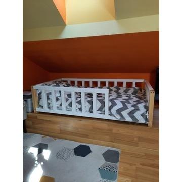 Łóżko dziecięce sosnowe POLA 80x160