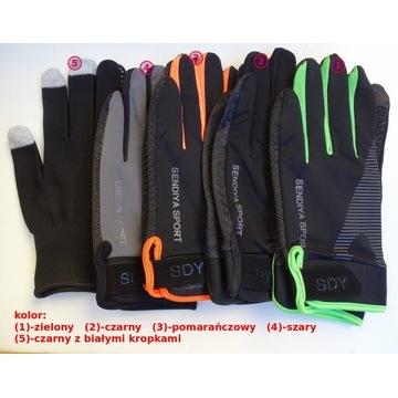 letnie rękawiczki sportowe:fitness,siłownia,rower