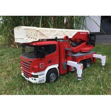 Scania wóz strażacki Bruder 03590