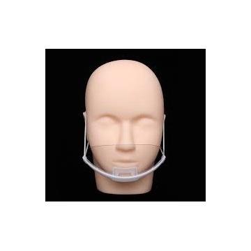 Maska plastikowa / przezroczysta / mini przyłbica