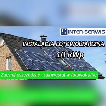 Panele fotowoltaiczne 10 kW Fotowoltaika, dotacja