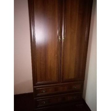 Szafa odzieżowa dwu drzwiowa