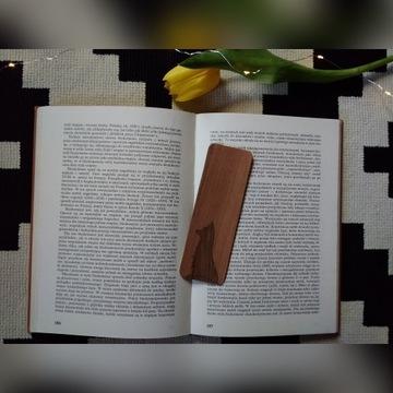 Drewniana zakładka do książki
