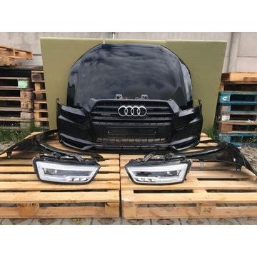 Kompletny przód Audi Q3 Lift 15> Sline LY9T led xe