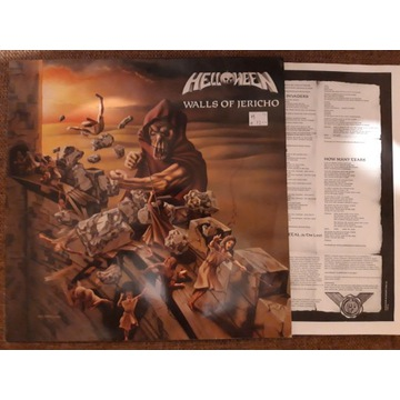 HELLOWEEN - WALLS OF JERICHO 1985 (WINYL, LP)