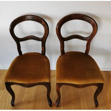 Krzesła Medaliony