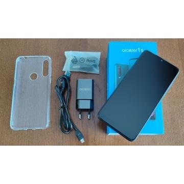 Extra ALCATEL 1S 2020 3/32GB Szary NFC Dual SIM