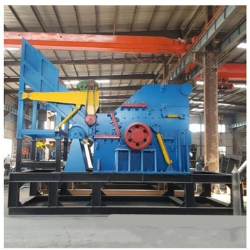 scrap metal crusher machine