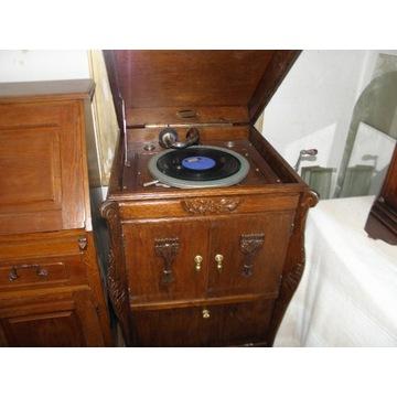 Gramofon przedwojenny