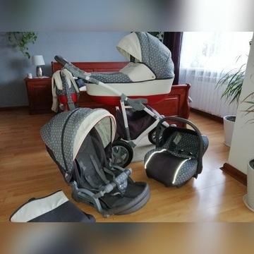 Wózek 3w1 Camarelo Vision