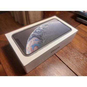 iPhone XR Black 64 Gb - nowy, gwarancja