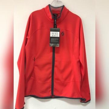 Bluza SCOTT r XL czerwona narty