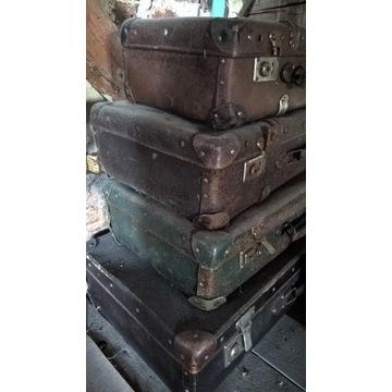 walizki antyczne bardzo stare