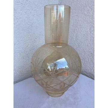 Klosz Szklany do Lampy naftowej szlifowany