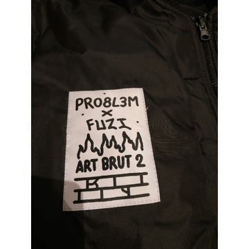 PRO8L3M roz.M Kurtka Bomberka ART BRUT 2