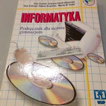 Ingormatyka podręcznik dla ucznia gimnazjum