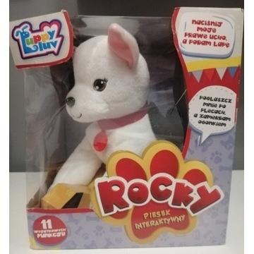 Piesek rocky, zabawka interaktywna 11funkcji
