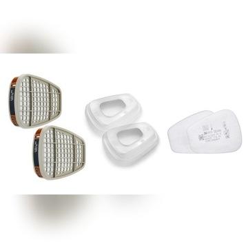 Filtr N100 Pochłaniacze A2 6055 + Filtry P3 5935